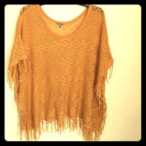 Sweaters - Knit poncho top